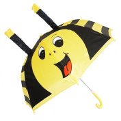 Kiddi Choice 3D PopUp Bee Cute Umbrella, Yellow/Black