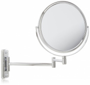 Jerdon Jp7808C 20cm Wall Mount Mirror, 8X Magnification, Chrome Finish