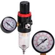 Airbrush Compressor Pressure Regulator Water Trap Filter Water Moisture Gauge