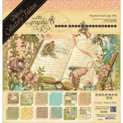Graphic 45 Deluxe Collector's Edition Pack 30cm x 30cm -Once Upon A Springtime