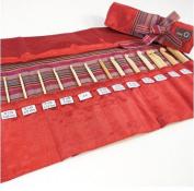 Della Q Crochet Roll 168-2 - Red