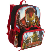 Marvel Avengers Backpack with Lunch Kit