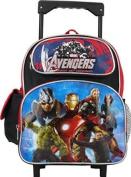 Small Rolling Backpack - Marvel - Avengers School Bag New 613051