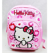 Mini Backpack - Hello Kitty - Pink Flower Bow New School Bag 84022