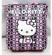Tote Bag - Hello Kitty - Black Box Checker New Gifts Girls Hand Purse 82352