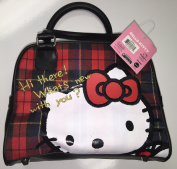 Hand Bag - Hello Kitty - Hi Here! Black & Red New 06139