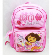 Backpack - Dora the Explorer - Boots Pink (Large School Bag) New 81612
