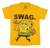 SpongeBob SquarePants Swag Boys Yellow T-Shirt - 5/6