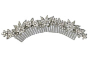 Clear Crystal Hair Comb For Bridal Bridesmaid Wedding Party Prom Pageant R48