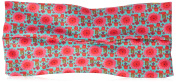 Natural Life Womens Floral Ruched Turban Headband One Size Pink/multi