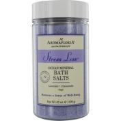 AromaFloria Stress Less Ocean Mineral Bath Salts, Lavender Chamomile & Sage, 1240ml