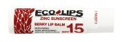 Eco Lips Zinc Sunscreen SPF 15 Berry ECO LIPS .15 Lip Balm