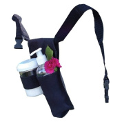 Royal Massage Double Adjustable Massage Oil + Lotion Holder, Black