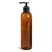 Royal Massage Empty Massage Oil Bottle, Amber, 240ml