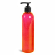 Royal Massage Empty Massage Oil Bottle, Ruby Red, 240ml