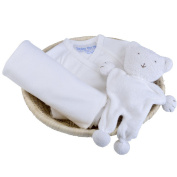 Under the Nile Organic Baby Gift Basket Off White