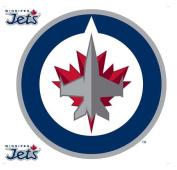 NHL Winnipeg Jets Wallmarx Hockey Wall Accent Set