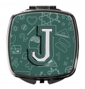 Letter J Back to School Initial Compact Mirror CJ2010-JSCM