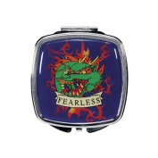 Fearless Dragon Tattoo Compact Mirror