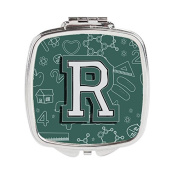Letter R Back to School Initial Compact Mirror CJ2010-RSCM