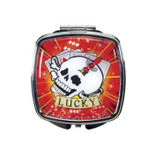 Lucky Tattoo Compact Mirror