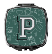 Letter P Back to School Initial Compact Mirror CJ2010-PSCM