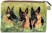 German Shepherd Zipper Pouch by Best Friends by Ruth Maystead