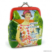 good girls go to heaven… I just want to go shopping Coin Purse by Anne Taintor