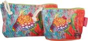 Leoma Lovegrove Trigger 2-pc. Cosmetic Bag Set One Size Multi