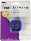 Charles Leonard Pencil Sharpener - Two-Hole - 1/Card, 80722