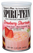 Spiru-Tein (Spirutein) Shake - Strawberry Shortcake Nature's Plus 0.5kg Powder