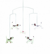 Flensted Mobiles Doggy Dreams Hanging Nursery Mobile - 50cm Cardboard