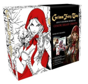 Grimm Fairy Tales Coloring Book Box Set