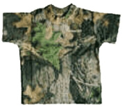 Infant Short Sleeve Tee Shirt Mossy Oak Breakup 6-12 Months