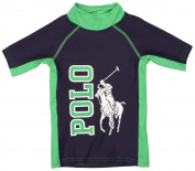 Polo Ralph Lauren Toddler Boys' (2T-4T) Pony Rashguard Shirt-Tiller Green-2T