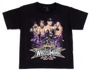 Wrestlemania XXX Toddlers Black T-Shirt - Size 4