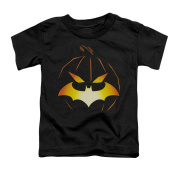 BATMAN/JACK O'BAT - S/S TODDLER TEE - BLACK - LG