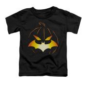 BATMAN/JACK O'BAT - S/S TODDLER TEE - BLACK - LG