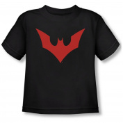 BATMAN BEYOND/BEYOND BAT LOGO - S/S TODDLER TEE - BLACK - SM