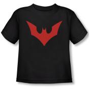 BATMAN BEYOND/BEYOND BAT LOGO - S/S TODDLER TEE - BLACK - SM