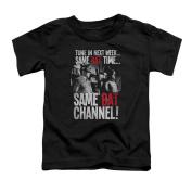 Batman Little Boys' Bat Channel Childrens T-shirt 3T Black