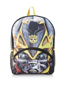 Transformers Boys Big Face Bumblebee 41cm Backpack with Lights