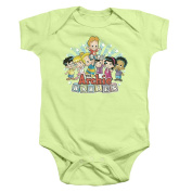 Archie Babies The Gang Unisex Baby Snapsuit Shirt