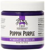 Top Performance Hair Dye Gel 120ml Poppin Purple