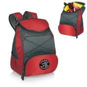 Picnic Time PTX Backpack Cooler - Red (Toronto Raptors) Digital Print