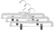 Home Basics PH01312 Crystal Skirt Hanger 3 Piece,