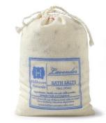 Lavender Bath Salts Cotton Drawstring Bag, 470ml by Hillhouse Naturals