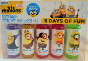 Minions 5 Days of Fun Body Wash Set