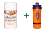 Best Schmidt's Deodorant, Cedarwood + Juniper, 80ml (75 g)( 3 PACK ), Now Foods, 3 in 1 Sports Shaker Bottle, 740ml