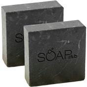 Pine Tar Natural Soap with Organic Shea Butter, and Coconut Oil By Soap Club 160ml 2 Pack